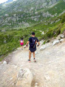 Descente à la Flégère · Alpes, Aiguilles Rouges, Vallée de Chamonix, FR · GPS 45°58'11.23'' N 6°53'21.48'' E · Altitude 2031m