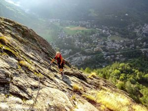Via Ferrata · Alpes, Massif du Mont-Blanc, Val Veny, IT · GPS 45°48'1.93'' N 6°57'42.27'' E · Altitude 1458m