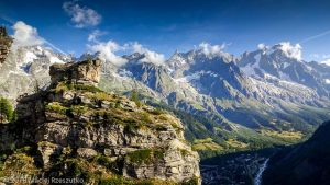 Via Ferrata · Alpes, Massif du Mont-Blanc, Val Veny, IT · GPS 45°48'7.23'' N 6°57'40.52'' E · Altitude 1549m