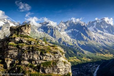 Via Ferrata · Alpes, Massif du Mont-Blanc, Val Veny, IT · GPS 45°48'7.23'' N 6°57'40.52'' E · Altitude 1549m