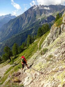 Via Ferrata · Alpes, Massif du Mont-Blanc, Val Veny, IT · GPS 45°47'58.12'' N 6°57'8.46'' E · Altitude 2030m