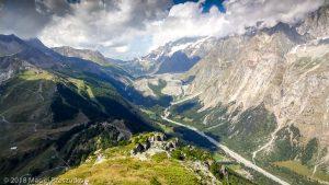 Dans la descente du Mont Chétif · Alpes, Massif du Mont-Blanc, Val Veny, IT · GPS 45°47'58.60'' N 6°56'52.53'' E · Altitude 2297m
