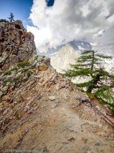 Dans la descente du Mont Chétif · Alpes, Massif du Mont-Blanc, Val Veny, IT · GPS 45°47'55.91'' N 6°56'35.53'' E · Altitude 2169m