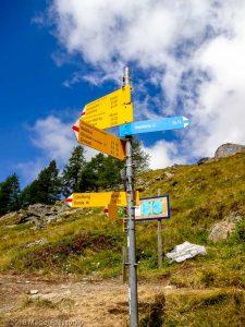 Dans la montée à Domhutte · Alpes, Alpes valaisannes, Massif des Mischabels, CH · GPS 46°6'11.85'' N 7°48'26.27'' E · Altitude 2216m