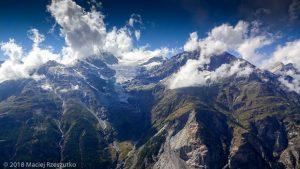 Dans la montée à Domhutte · Alpes, Alpes valaisannes, Massif des Mischabels, CH · GPS 46°6'12.67'' N 7°48'38.57'' E · Altitude 2435m