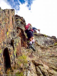 Dans la montée à Domhutte · Alpes, Alpes valaisannes, Massif des Mischabels, CH · GPS 46°6'9.59'' N 7°48'43.08'' E · Altitude 2528m