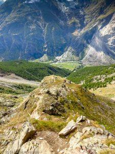 Dans la montée à Domhutte · Alpes, Alpes valaisannes, Massif des Mischabels, CH · GPS 46°6'9.58'' N 7°48'43.11'' E · Altitude 2528m