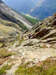 Dans la montée à Domhutte · Alpes, Alpes valaisannes, Massif des Mischabels, CH · GPS 46°6'13.63'' N 7°48'45.53'' E · Altitude 2623m