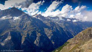 Dans la montée à Domhutte · Alpes, Alpes valaisannes, Massif des Mischabels, CH · GPS 46°6'15.04'' N 7°48'48.71'' E · Altitude 2717m