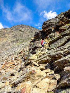 Dans la montée à Domhutte · Alpes, Alpes valaisannes, Massif des Mischabels, CH · GPS 46°6'15.13'' N 7°48'48.54'' E · Altitude 2717m