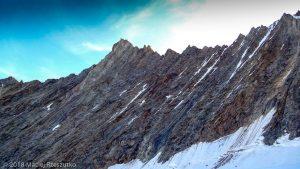 Face Nord du Dom · Alpes, Alpes valaisannes, Massif des Mischabels, CH · GPS 46°6'11.13'' N 7°51'44.01'' E · Altitude 3916m