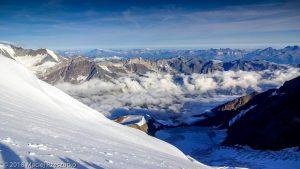 Face Nord du Dom · Alpes, Alpes valaisannes, Massif des Mischabels, CH · GPS 46°5'47.31'' N 7°51'28.85'' E · Altitude 4274m
