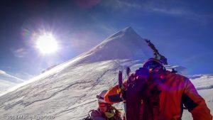 Dom des Mischabel · Alpes, Alpes valaisannes, Massif des Mischabels, CH · GPS 46°5'40.88'' N 7°51'26.35'' E · Altitude 4412m