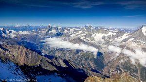 Dom des Mischabel · Alpes, Alpes valaisannes, Massif des Mischabels, CH · GPS 46°5'38.43'' N 7°51'31.96'' E · Altitude 4490m