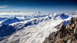 Dom des Mischabel · Alpes, Alpes valaisannes, Massif des Mischabels, CH · GPS 46°5'38.40'' N 7°51'31.85'' E · Altitude 4492m