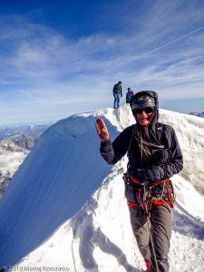 Dom des Mischabel · Alpes, Alpes valaisannes, Massif des Mischabels, CH · GPS 46°5'38.30'' N 7°51'31.91'' E · Altitude 4494m