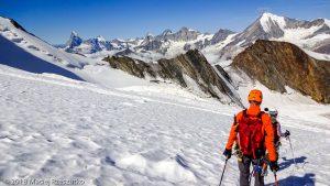 Face Nord du Dom · Alpes, Alpes valaisannes, Massif des Mischabels, CH · GPS 46°6'14.92'' N 7°51'13.80'' E · Altitude 3751m
