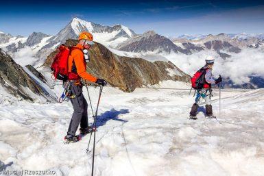 Face Nord du Dom · Alpes, Alpes valaisannes, Massif des Mischabels, CH · GPS 46°6'14.76'' N 7°51'11.51'' E · Altitude 3739m