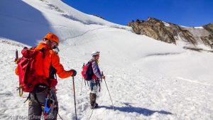 Face Nord du Dom · Alpes, Alpes valaisannes, Massif des Mischabels, CH · GPS 46°6'12.08'' N 7°50'59.79'' E · Altitude 3642m
