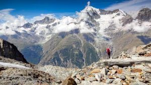 Festigletscher · Alpes, Alpes valaisannes, Massif des Mischabels, CH · GPS 46°6'4.55'' N 7°49'25.67'' E · Altitude 3106m
