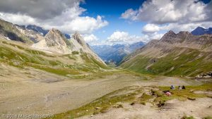 Col de la Seigne · Alpes, Massif du Mont-Blanc, FR · GPS 45°45'5.32'' N 6°48'24.42'' E · Altitude 2494m