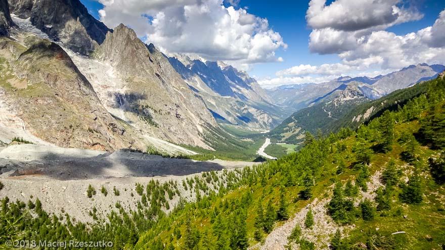Arête du Mont Favre · Alpes, Massif du Mont-Blanc, Val Veny, IT · GPS 45°46'27.50'' N 6°52'37.76'' E · Altitude 2122m