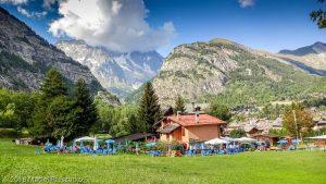 Courmayeur · Alpes, Massif du Mont-Blanc, IT · GPS 45°47'19.49'' N 6°57'39.61'' E · Altitude 1307m