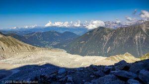 Moraine droite du Glacier des Pèlerins · Alpes, Massif du Mont-Blanc, Vallée de Chamonix, FR · GPS 45°53'36.34'' N 6°53'40.89'' E · Altitude 2546m