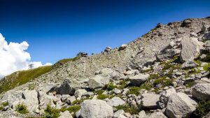 Traversée sous le Glacier des Pèlerins · Alpes, Massif du Mont-Blanc, Vallée de Chamonix, FR · GPS 45°53'50.45'' N 6°52'55.27'' E · Altitude 2220m