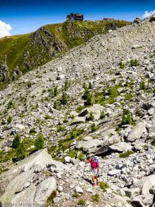 Traversée sous le Glacier des Pèlerins · Alpes, Massif du Mont-Blanc, Vallée de Chamonix, FR · GPS 45°53'46.23'' N 6°52'47.54'' E · Altitude 2210m