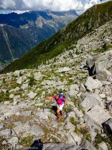 Traversée sous le Glacier des Pèlerins · Alpes, Massif du Mont-Blanc, Vallée de Chamonix, FR · GPS 45°53'46.28'' N 6°52'47.54'' E · Altitude 2210m