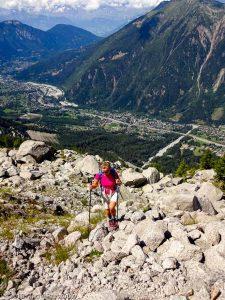 Traversée sous le Glacier des Pèlerins · Alpes, Massif du Mont-Blanc, Vallée de Chamonix, FR · GPS 45°53'42.99'' N 6°52'46.35'' E · Altitude 2223m
