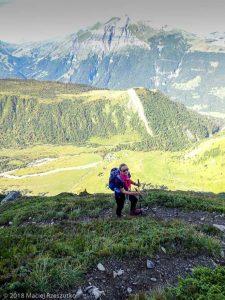 - · Alpes, Massif du Mont-Blanc, Traversée vers la Refuge de Pla, FR · GPS 45°50'34.40'' N 6°46'22.61'' E · Altitude 2165m