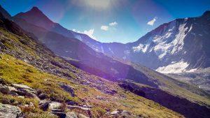 - · Alpes, Massif du Mont-Blanc, Traversée vers la Refuge de Pla, FR · GPS 45°50'21.43'' N 6°46'46.59'' E · Altitude 2325m