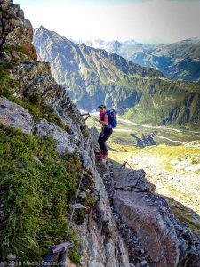 - · Alpes, Massif du Mont-Blanc, Traversée vers la Refuge de Pla, FR · GPS 45°50'18.79'' N 6°47'6.19'' E · Altitude 2443m