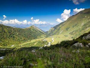 - · Alpes, Massif du Mont-Blanc, Descente aux Chalets de Miage, FR · GPS 45°49'46.88'' N 6°46'16.46'' E · Altitude 1807m