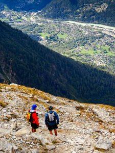 La Jonction · Alpes, Massif du Mont-Blanc, Vallée de Chamonix, FR · GPS 45°52'44.03'' N 6°51'25.12'' E · Altitude 1960m
