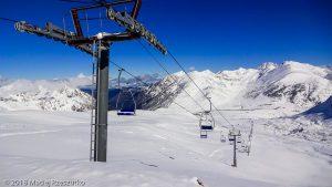 Dôme de la Mine · Pyrénées, Pyrénées orientales, Puymorens, FR · GPS 42°32'33.04'' N 1°46'16.92'' E · Altitude 2360m
