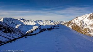 Vallon d'en Garcia · Pyrénées, Pyrénées orientales, Puymorens, FR · GPS 42°34'46.58'' N 1°50'38.93'' E · Altitude 2379m