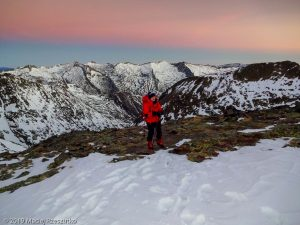 Levé du jour au Montcalm · Pyrénées, Pyrénées ariégeoises, Vallée de I'Artigue, FR · GPS 42°40'29.23'' N 1°23'56.92'' E · Altitude 2820m