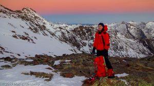 Levé du jour au Montcalm · Pyrénées, Pyrénées ariégeoises, Vallée de I'Artigue, FR · GPS 42°40'28.77'' N 1°23'57.16'' E · Altitude 2825m