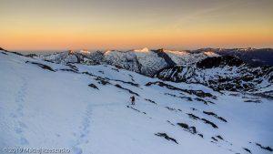 Levé du jour au Montcalm · Pyrénées, Pyrénées ariégeoises, Vallée de I'Artigue, FR · GPS 42°40'19.67'' N 1°23'56.47'' E · Altitude 2878m