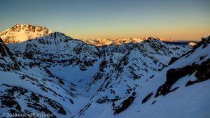 Levé du jour au Montcalm · Pyrénées, Pyrénées ariégeoises, Vallée de I'Artigue, FR · GPS 42°40'16.47'' N 1°24'4.91'' E · Altitude 2939m