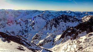 Sommet du Montcalm · Pyrénées, Pyrénées ariégeoises, Vallée de I'Artigue, FR · GPS 42°40'18.75'' N 1°24'22.69'' E · Altitude 3077m