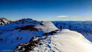 À l'approche de la Pique d'Estats · Pyrénées, Pyrénées ariégeoises, Vallée de I'Artigue, FR · GPS 42°40'6.20'' N 1°23'59.02'' E · Altitude 3006m