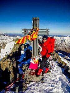 Sommet de la Pique d'Estats · Pyrénées, Pyrénées ariégeoises, Vallée de I'Artigue, FR · GPS 42°40'1.21'' N 1°23'52.42'' E · Altitude 3114m