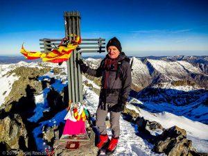 Sommet de la Pique d'Estats · Pyrénées, Pyrénées ariégeoises, Vallée de I'Artigue, FR · GPS 42°40'1.13'' N 1°23'52.41'' E · Altitude 3116m