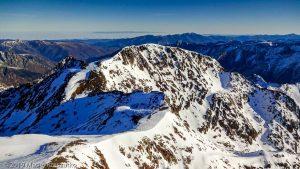 Sommet de la Pique d'Estats · Pyrénées, Pyrénées ariégeoises, Vallée de I'Artigue, FR · GPS 42°40'1.18'' N 1°23'52.41'' E · Altitude 3115m
