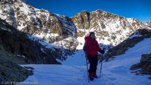Dans la descente au refuge · Pyrénées, Pyrénées ariégeoises, Vallée de I'Artigue, FR · GPS 42°40'47.03'' N 1°23'53.99'' E · Altitude 2543m