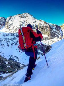 Dans la descente au refuge · Pyrénées, Pyrénées ariégeoises, Vallée de I'Artigue, FR · GPS 42°40'49.75'' N 1°23'47.83'' E · Altitude 2506m